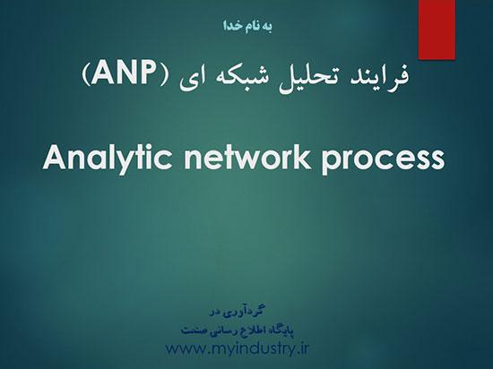 پاورپوینت آشنایی با فرآیند تحلیل شبکه ای ANP