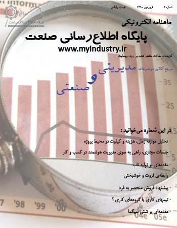 ماهنامه مقالات مدیریتی و صنعتی
