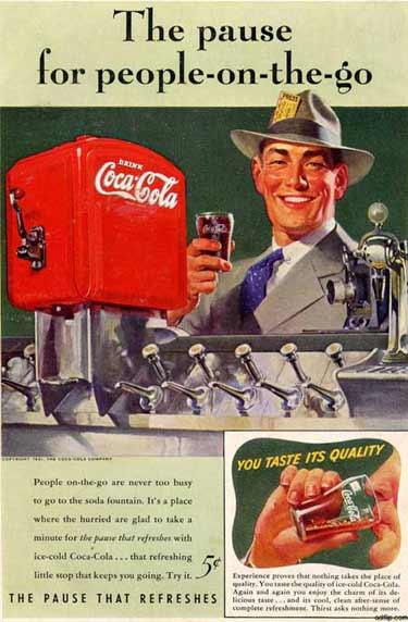 تبلیغ کوکاکولا