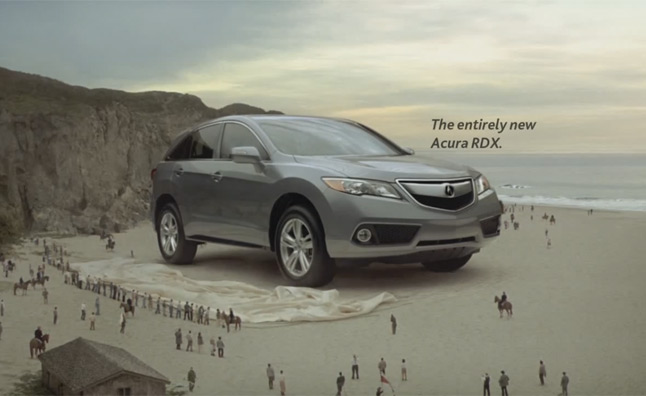 تبلیغ هوندا اکورا : خودروی گالیور در کارواش