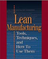 Lean Manufacturing: Tools, Techniques, a...